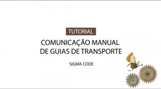 Comunicação Manual de Guias de Transporte no PHC