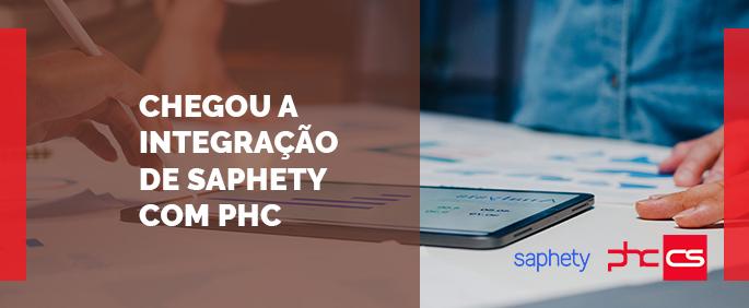 integração de Saphety com PHC